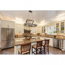 kitchen cabinet sets hot sale American modern designs kitchen cupboards