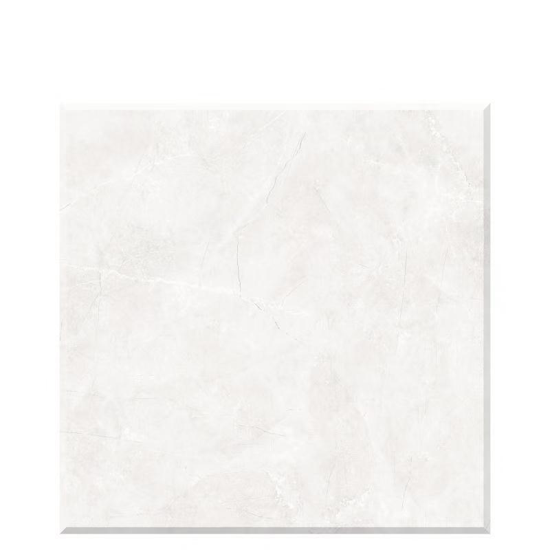 White marble floor