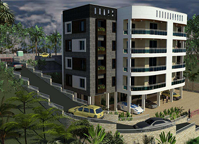 Whole house customization of Aderdeen Building in Sierra Leone