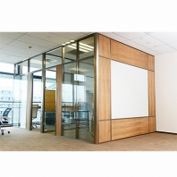 Foshan divider wall manufacturer wooden office cubicles walls