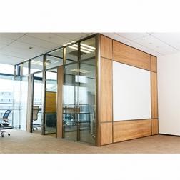 Foshan divider wall manufacturer wooden office cubicles walls