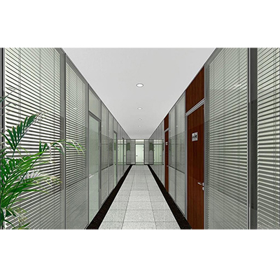 Glass factory glass office partitions wall design office cubicles