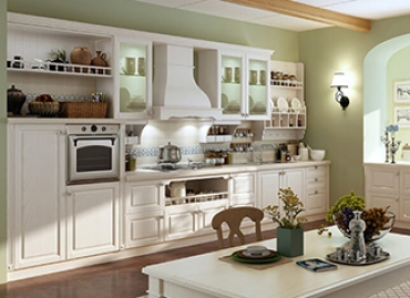 What is the solid wood kitchen cabinets in your eye?