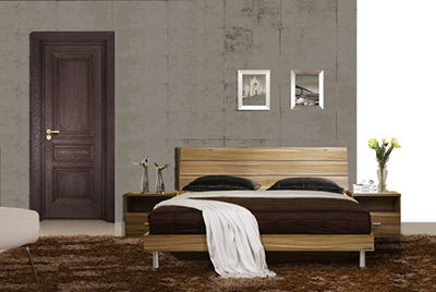 Why the colors difference will happen on solid wood internal doors?